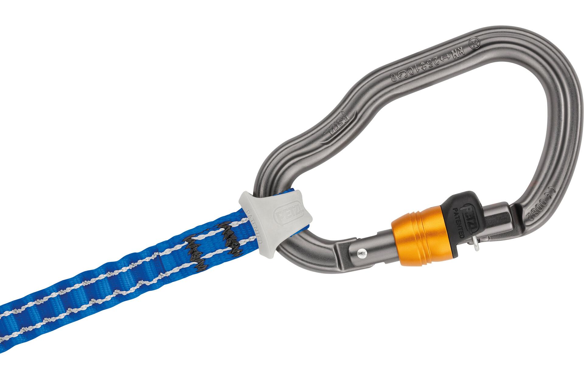 Petzl Klettersteigset : Petzl scorpio vertigo klettersteigset ohne swivel campz